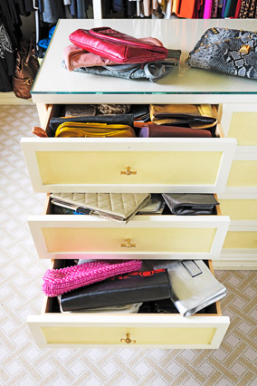 Clutch drawers