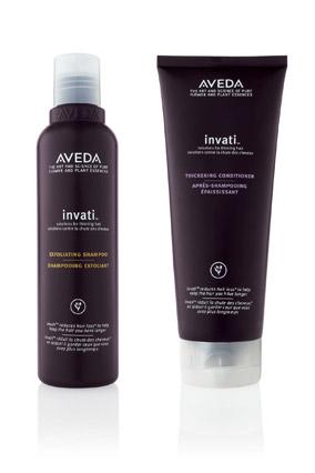 Aveda Invati Exfoliating Shampoo and Thickening Conditioner