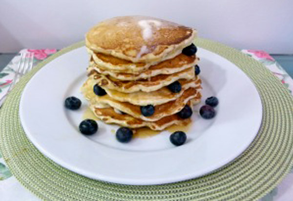 Oprah's Blueberry Pancakes