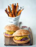 Cristina Ferrare's cheeseburgers