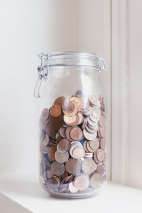 Jar of change
