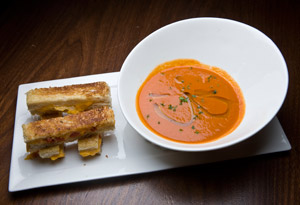 Grilled Cheese Bars with Tomato Soup Dip