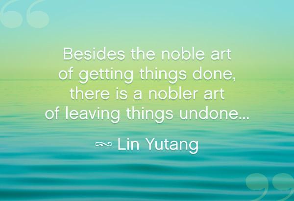 Lin Yutang quote