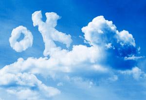 OK in the clouds