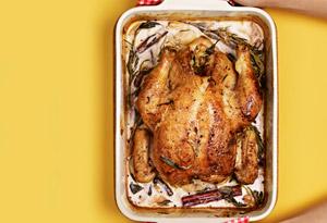 Lemon-and-Milk-Braised Chicken