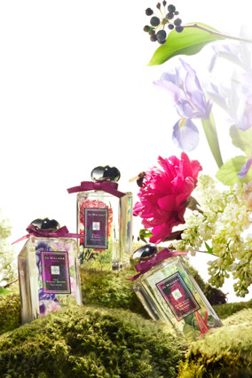 Jo Malone floral perfumes
