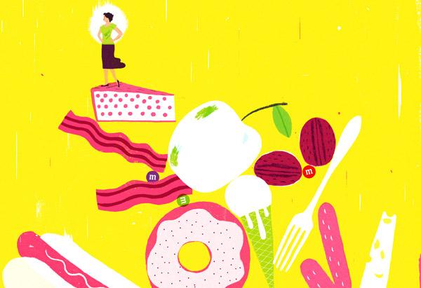 Desserts illustration