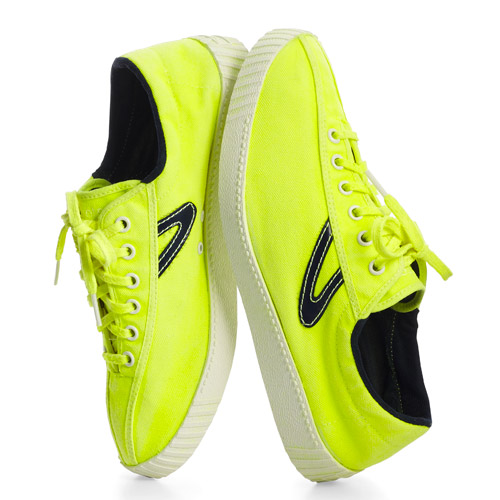 Sid Mashburn Day-Glo Tretorn Nylite shoes