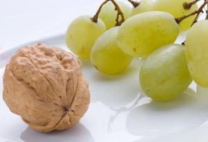 grape-nut halves