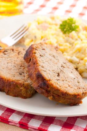 Microwave meatloaf