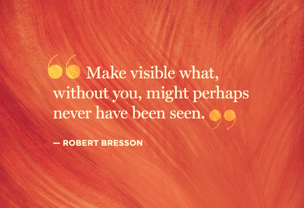 robert bresson quote