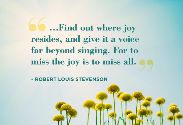 Robert Louis Stevenson quote
