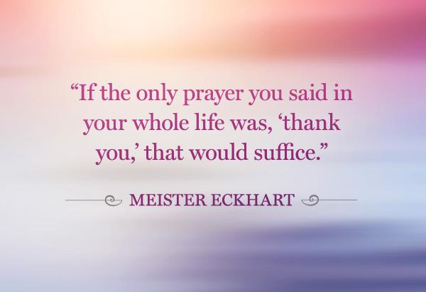 Prayer Gratitude Quotes. QuotesGram