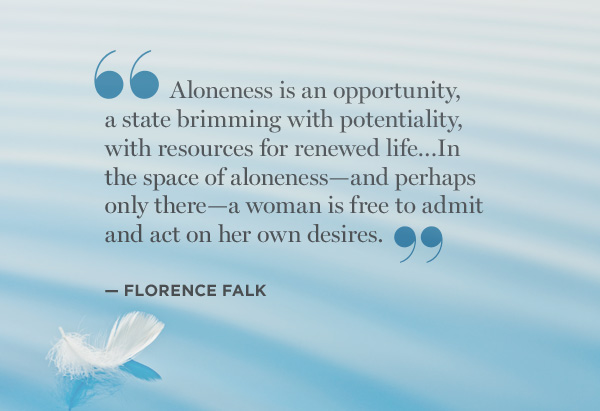 florence falk quote