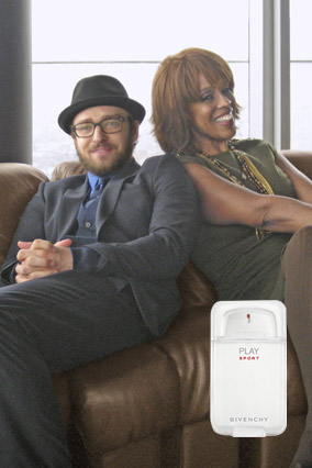 Justin Timberlake and Gayle King Givenchy Play