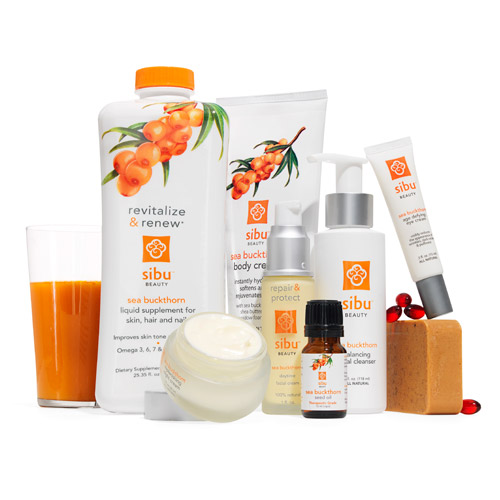 Sibu Beauty Natural Buckthorn Skincare Products