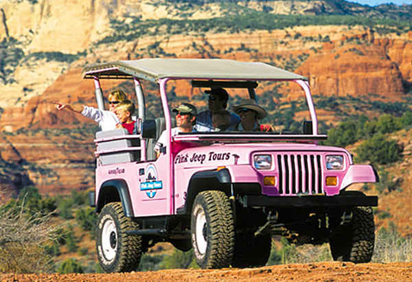 Jeep tours in Sedona