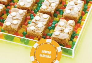 Butterscotch Domino Blondies