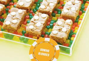 Butterscotch Domino Blondies