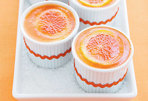 Cheesecake Mousse with Blood Orange Gelee Recipe