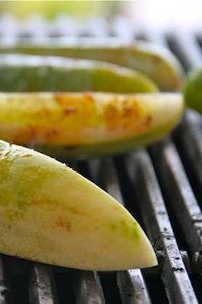 Grilled Pickles