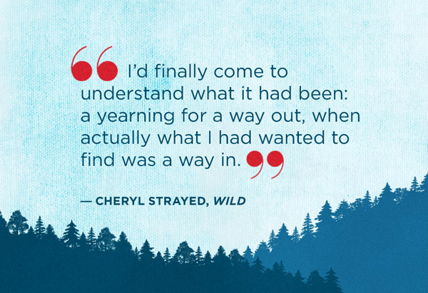 Quote from Wild by Cheryl Strayed
