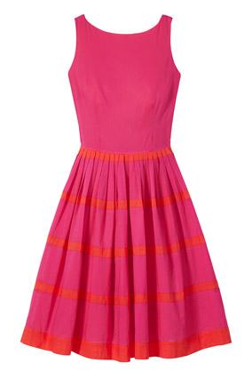 Full-skirted dress