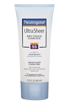 Neutrogena Ultra Sheer Dry-Touch Sunblock SPF 55