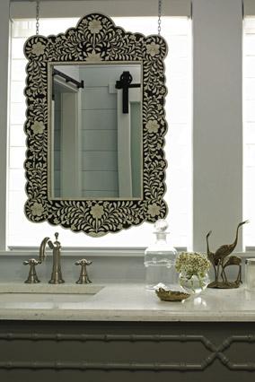 Tim Clarke's bathroom decor