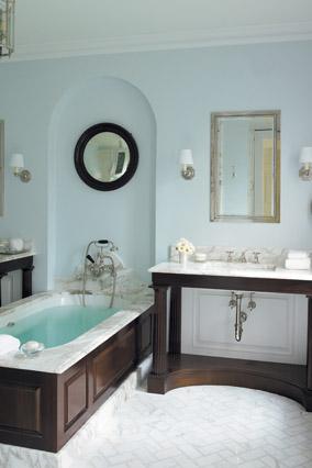 Phoebe Howard's bathroom design