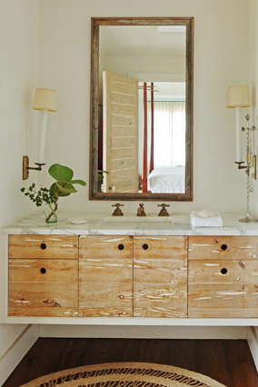 Annie Kelly's bathroom design
