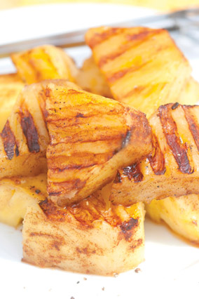 Grilled Five-Spice Pineapple Kabobs