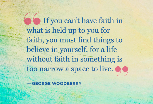 George Woodberry quote