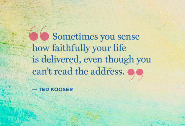 Ted Kooser quote