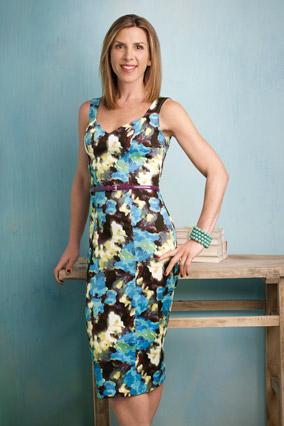 Jennifer Gilbert models cheap summer fashion