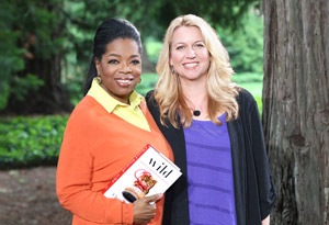 Oprah Winfrey and Cheryl Strayed