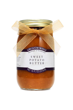 Sweet potato preserves hostess gift