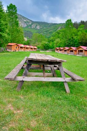 Camp cabins