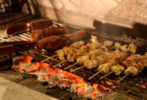 Chicken Souvlaki with Tzatziki Dip Recipe