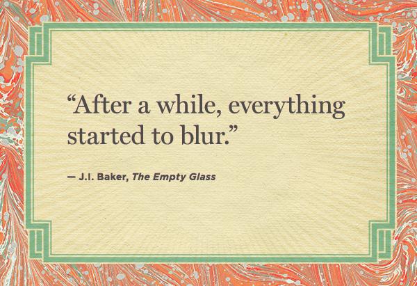 J.l. Baker quote