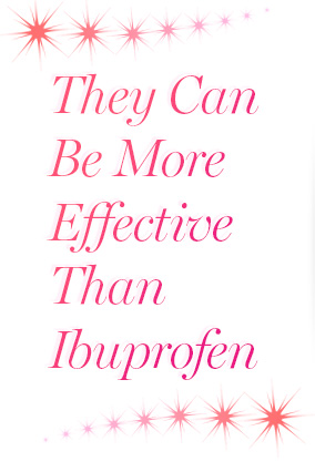 They Can Be More Effective than Ibuprofen
