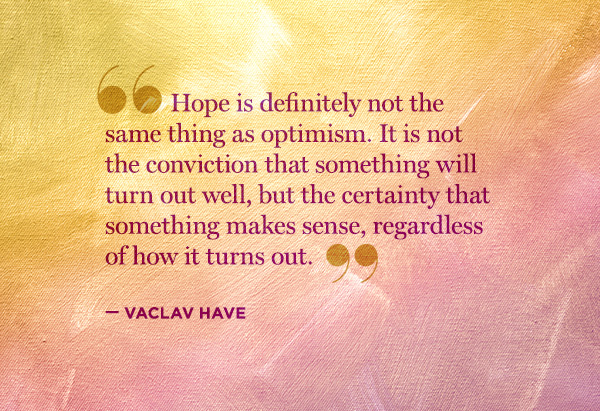 Vaclav Havel Quotes Hope. QuotesGram
