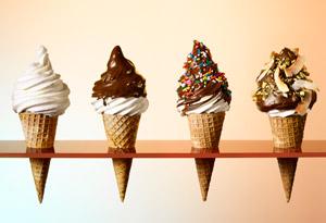 cheater soft serve ice cream