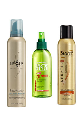 limp hair products