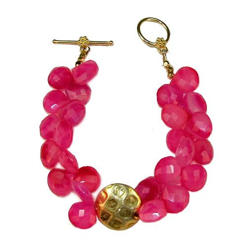 Raspberry Bracelet