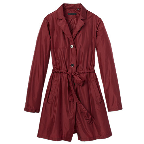 Uniqlo Red Trench