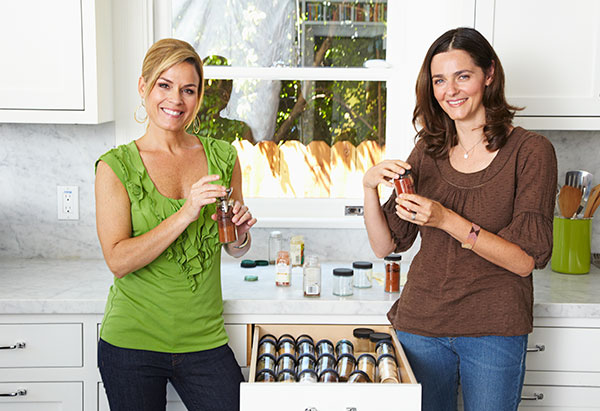 Cat Cora and Ali Baird