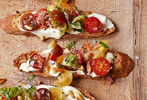 To Try: Ina Garten's Tomato Crostini with Whipped Feta   Kristin's ...