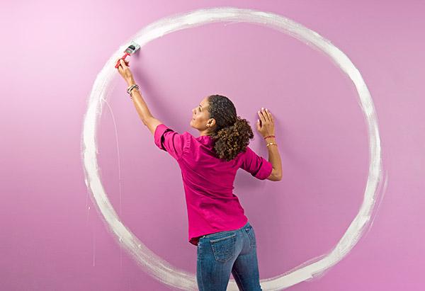 Painting a circle