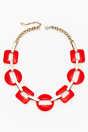 Ann Taylor link necklace